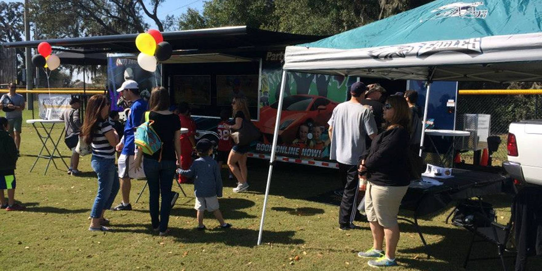 Corporate event, company picnic promotional entertainment in Houston and Katy Texas