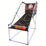Basketball hoop shoot arcade game