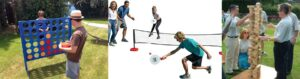 Yard games for parties in Houston Texas